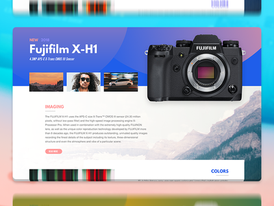 Fujifilm X-H1 Page