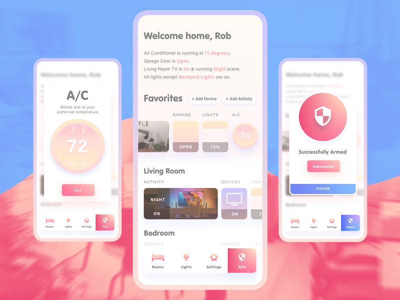 Home App Redux