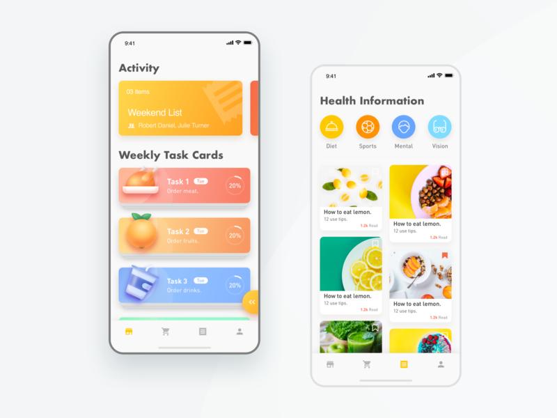 Healthy kids App