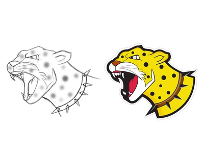 jaguar sticker design