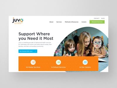 Juvo Behavioral Health Website Redesign