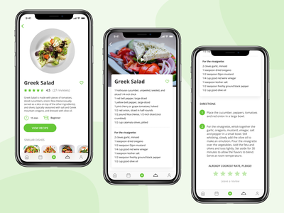 Greek Salad Recipe recipe card recipe app recipe food app meal food card app