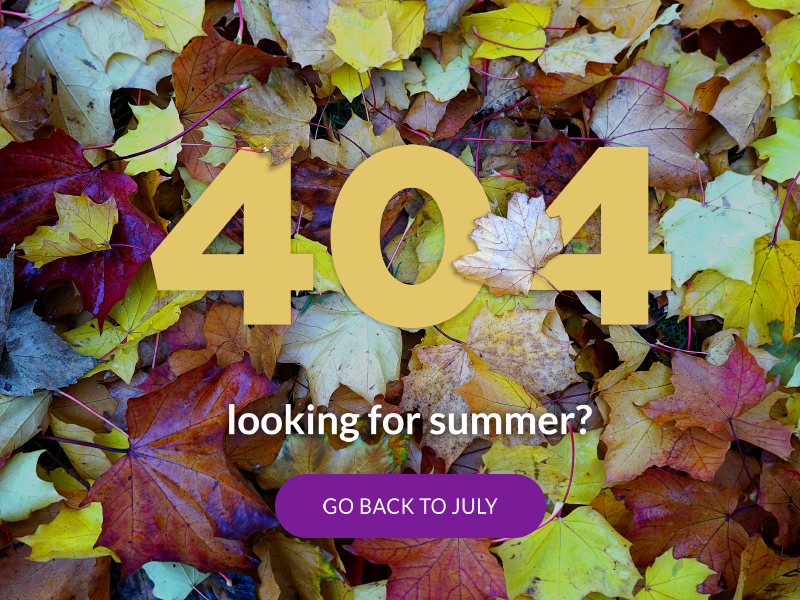 404 daily ui background leaves autumn 404