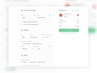 UX Redesign of checkout form for eda.ua