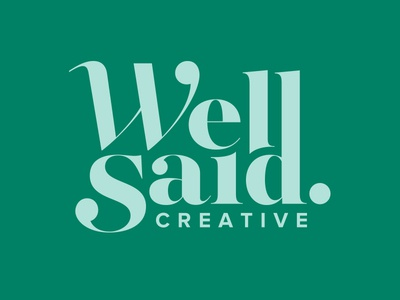Well Said Creative Logo