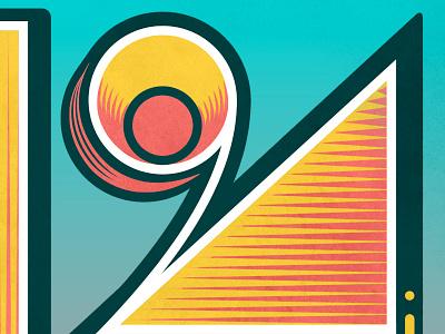 Letter K publication portfolio lettering illustration design