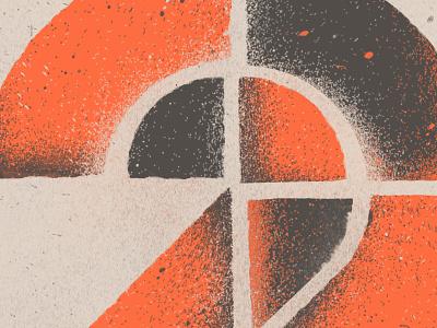 Number 2 publication portfolio numbers lettering illustration design
