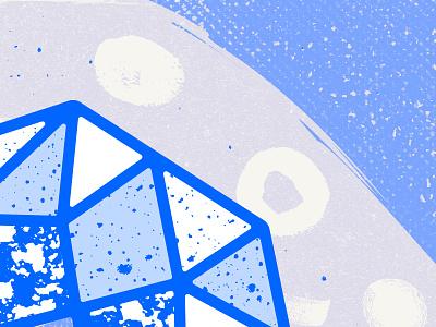 Number 3 publication portfolio numbers lettering illustration design