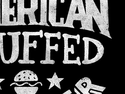 Oster 7-Minute Grill american oster publication portfolio burger lettering illustration design