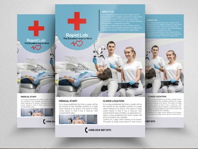 Medical Flyer Template company clean business flyer business medical flyer template