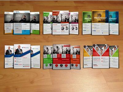 6 Business Flyer Template Bundle