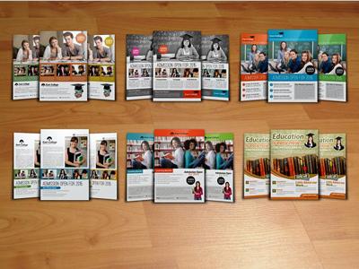 6 College Education Flyer Bundle