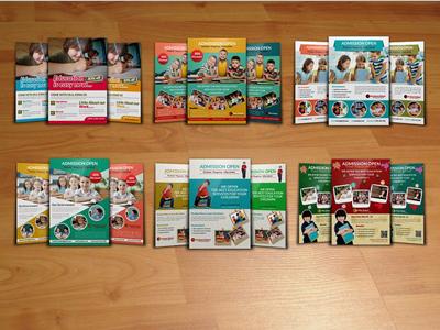 6 School Education Flyer Bundle