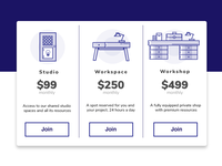 Daily UI Challenge 030 - Pricing Tables