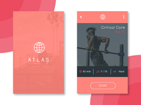 Daily Ui Challenge 041 - Fitness App