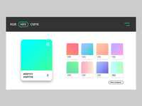 Daily UI Challenge 060 - Color Picker