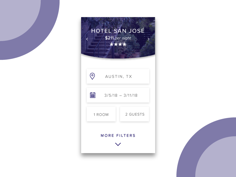 Daily ui challenge 067 hotel booking