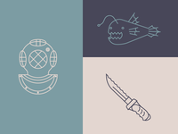 Deep Sea Icons