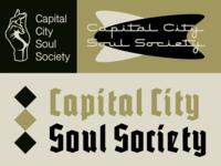 Capital City Soul Society Branding Concepts