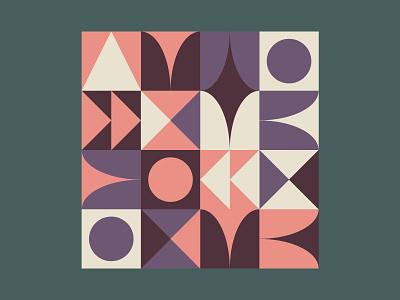 Mid-Century Pattern pastels pattern midcentury retro