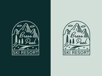Daily Logo Challenge 08 - Ski Mountain