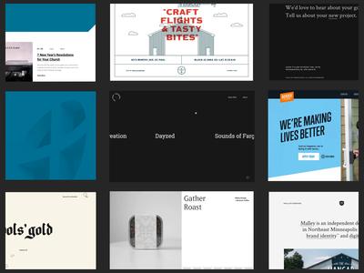 Personal Portfolio 2 simple minimal developer designer portfolio design website