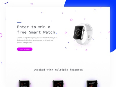 Product Giveaway Landing Page
