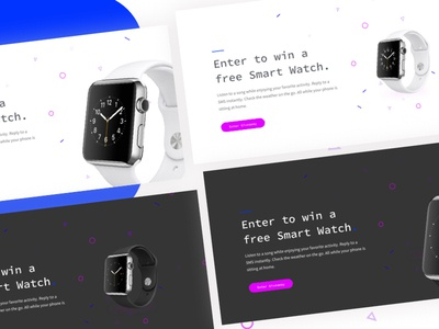 Product Giveaway Landing Page Variants