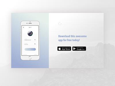 App Landing Page web design landing page design template gradient leadpages interface pattern ui ux app