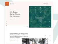 Shelter Homepage Exploration