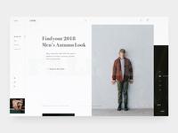 Autumn Lookbook – Layout Exploration I