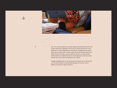 AS Portfolio – Selected Work Interaction interaction sketch interface portfolio interface design animation website web design ui ux design