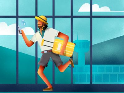 Travel illustration Detail