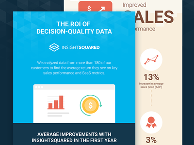 ROI Infographic flat icon ui design illustration stats graph data clean infographic