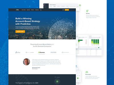 ABS Landing Page scoring clean website web design landing page