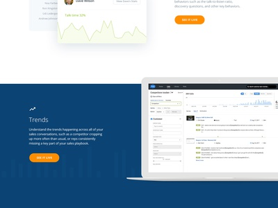 Features page flat icon illustration marketing stats ui ux comments design webdesign web features