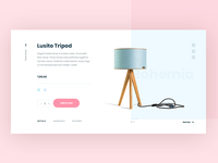 Tripod Lamp - product page