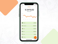 Expenses app track madewithadobexd interactiondesign ux adobexd bank money financial expenses