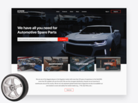 Automotive Spare Parts Website