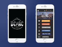 DCAC Splash Screen and User Interface