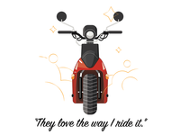Ride it