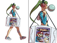 March of the Hypemon: Gamer Girl