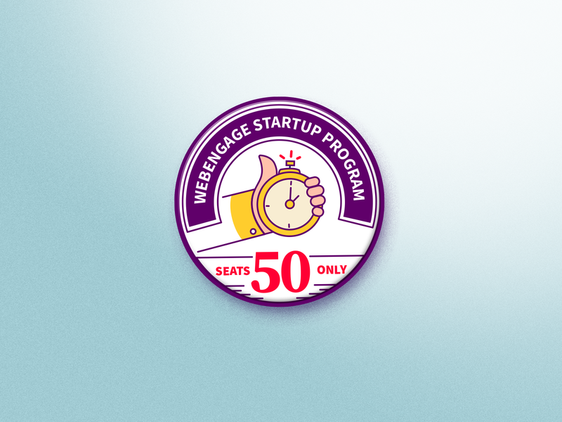 Startup Program Badge badge logo startup seal badgedesign badge illustration