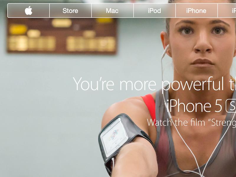 Apple navigation dribbble