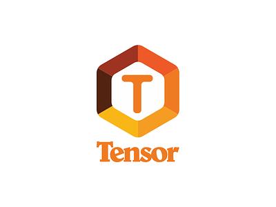 Tensor belwe vector typography type script logotype logo design logo design color branding