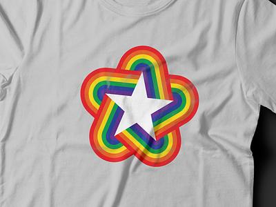Pride '18 Shirt Print tshirt graphics tshirt mockup tshirt design tshirt art tshirt shirt print mock-ups mock ups mock-up mock up mock logo design vector branding color simple logotype design logo