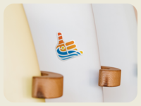 Shaka Wave Sticker