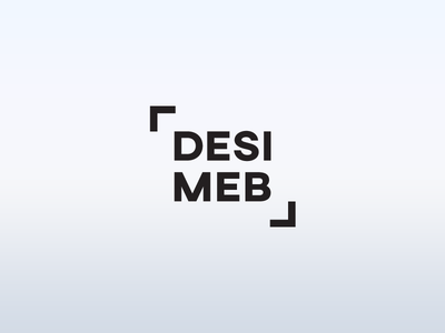 Desimeb minimalistic mark minimal logotype sign logo furniture
