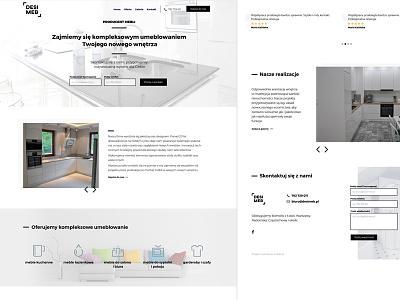 Desimeb website minimalistic furniture manufacturer modern furniture website
