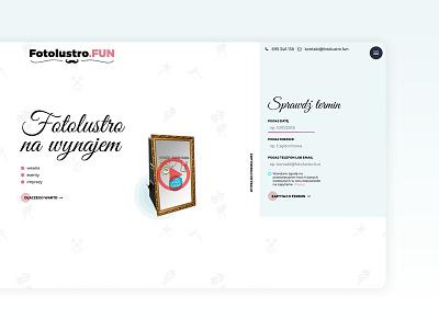 Fotolustro.FUN simple website fun photobooth